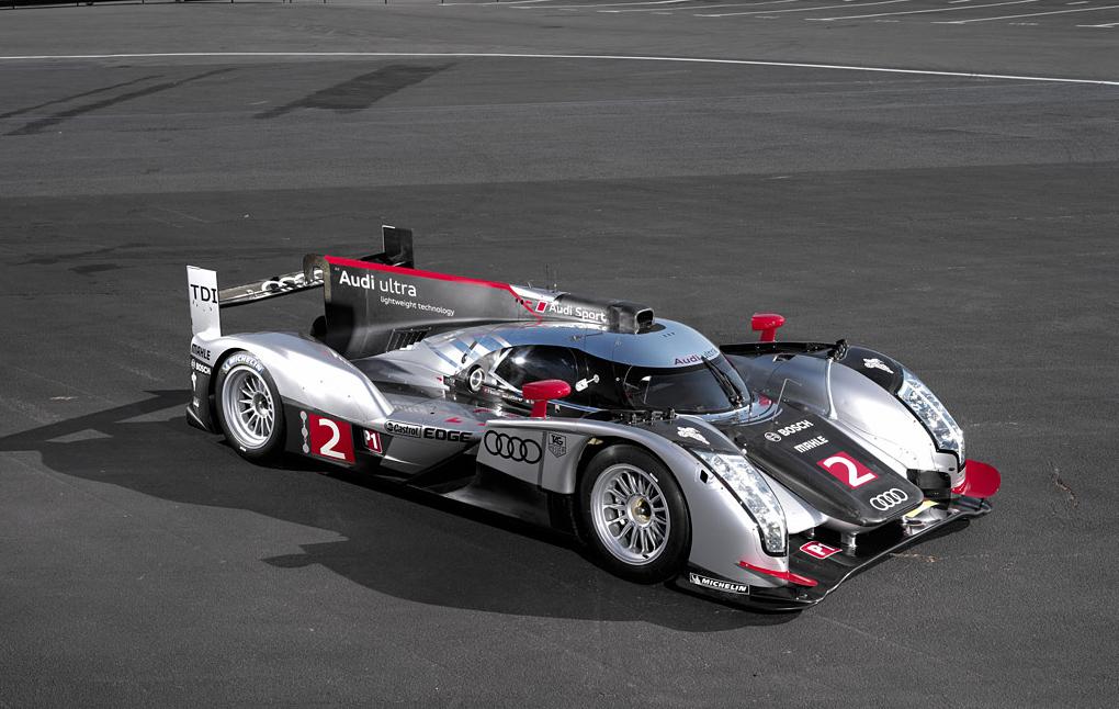Test Audi R18 Le Mans