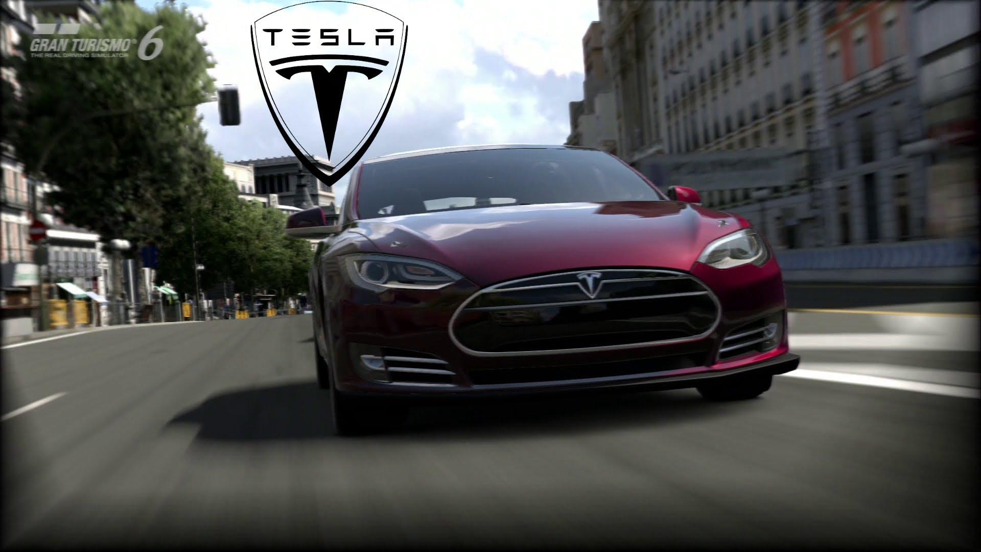 Tesla Model S dans Gran Turismo 6